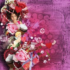 Sweetest Heart by WendyP Designs http://www.digitalscrapbookingstudio.com/store/index.php?main_page=index&cPath=13_461 Photo by Alyona Balabanova