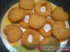 Λαδοκούλουρα Greek Cake, Greek Cookies, Sweets Recipes, Desserts, Biscuit Cookies, Recipe Images, Greek Recipes, Bread Baking, Biscuits