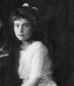 Grand Duchess Anastasia of Russia by little_pair_grand_duchess from Instagram