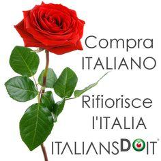 Compra ITALIANO, rifiorisce l'ITALIA