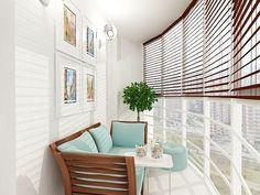 Как наполнить маленький балкон домашним уютом – фото