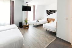 $270 per night, 4 beds in 1 room inc ensuite TSH Paris La Défense in Paris, France - Book Budget Hotels with Hostelworld.com