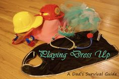 Playing Dress Up A Dad's Survival Guide #kids #dressup #DadBlogger