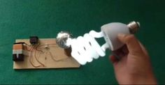 Make Your Own Tesla Coil At Home That Will Light Up Bulbs In Air