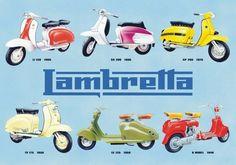 Lambretta collage - Cartelli Pubblicitari in Metallo Lambretta Scooter, Vespa Scooters, Retro Scooter, Motor Scooters, Motor Car, Ducati, Superman Costumes, Old Commercials, Small Cars