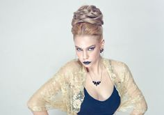 Cocktail Prom or Evening Wear. Gold shrug metallic by noavider, $45.00