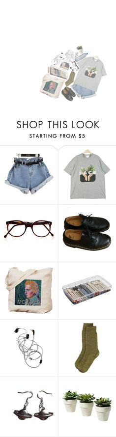 """"""";; oh why you gotta be so talkative? //"""" by cottoncandyprince ❤ liked on Polyvore featuring Cutler and Gross, Dr. Martens, ArtBin, Toast, indie, monet, aesthetic, arthoe and cheekyspon"""