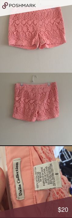 Dalia collection shorts Size 8, zipper on the side Dalia collection Shorts
