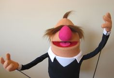 """Fred"", a Muppet-inspired puppet by Jarrod Boutcher"