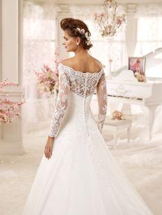 1be343442235  wedding  weddingdress  2016  collection  bride  bridal  brides  fashion   love  white  sposa  abitodasposa …