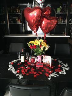Cute valentines day ideas, boyfriend gifts, valentine day gifts, romantic s Romantic Surprise, Romantic Night, Romantic Dinners, Romantic Room, Boyfriend Anniversary Gifts, Diy Gifts For Boyfriend, Valentines Day Gifts For Her, Valentines Diy, Birthday Surprise Boyfriend