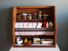 DIY Play Store... love the bulk storage in jars and repurposed match boxes