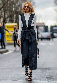 Blogger Candela Novembre at Milan Fashion Week AW16