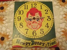 Rare Vintage Howdy Doody's TV Game from Milton Bradley, Made in Canada, Instructions on Inside of Box~~