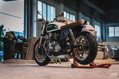 The modern classic, Honda style: Bolt's 1995 Seven Fifty Cb750 Cafe Racer, Scrambler, Cb 750 Seven Fifty, British Paints, Brat Bike, Honda Cb750, Bmw Series, Tourist Trap, Ducati Monster