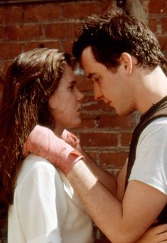 """Say Anything  Incredibly, John Cusack almost refused his role in this 1989 movie, though it's impossible to imagine anyone else playing hopeless romantic Lloyd Dobler. """"We fell in love in a friendship way [while shooting the film],"""" Ione Skye said of her co-star. """"I think you can see that."""""""