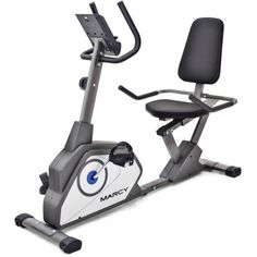 Marcy Recumbent Exercise Bike - Adjustable seat length and foot straps Compact design to fit smaller spaces Ergonomic vinyl and foam handles for comfortable workout Handles have. Folding Treadmill, Recumbent Bike Workout, Bikes For Sale, Workout Machines, Exercise Machine, Burn Calories, Cardio, Fitness Models, Gym