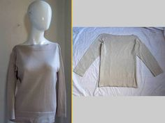 MaxMara Max Mara Modern Day Luxe Super Soft Cashmere Blend Knit Sweater Top M | eBay