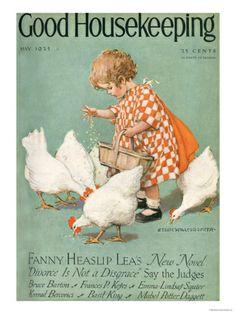 Good Housekeeping, May 1925.  Print from Art.com, $24.99