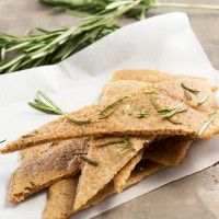 Savory Herb Flatbread made with Haylie's baking mix - warm flatbread in less than 15 minutes!