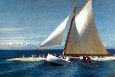 ilovetocollectart: Edward Hopper - The Martha McKeen of Wellfleet, 1944