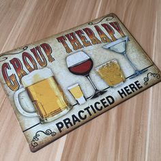 """About """" drinking and beer """" UA-0123  metal painting  vintage tin signs  home decor plate  wall art craft  for bar 20x30cm"""
