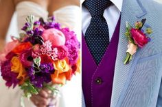 Fall Wedding Color Ideas | Great Colors for a Fall Wedding | Wedding Ideas