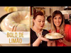 BOLO DE LIMÃO | SANDRA DO CANAL RECEITAS E TEMPEROS - YouTube