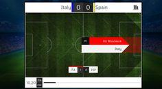 #ITAESP #EURO2016 ¡Al palo! De Gea está en gran plan ante #Italia  El tiro al palo número 11 en la competición.