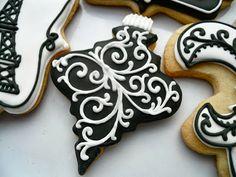 .Oh Sugar Events: Mais Oui Christmas Paris Christmas cookies