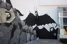 Nuevo mural de Ericailcane en México