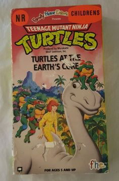 Teenage Mutant Ninja Turtles - Turtles at the Earth's Core (VHS, 1991) Cartoon in DVDs & Movies, VHS Tapes | eBay, Christmas Shopping