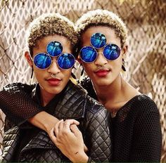 ccdf2f01a4f Coco  amp  Breezy -eyewear designers who designed Prince s 3rd eye  sunglasses African Fashion Designers