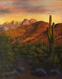 Arizona Four Peaks Print By Bev Finger