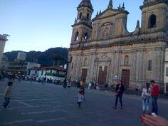 Catedral Primada de Bogotá, Plaza de Bolívar. Bogotá-Colombia.