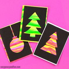 20 Simple and Sweet DIY Christmas Card Ideas for Kids Spread love this holiday season with a handmade card, chosen from our list of simple and sweet DIY Christmas Card Ideas for Kids. Christmas Cards Handmade Kids, Christmas Card Sayings, Simple Christmas Cards, Christmas Card Crafts, Homemade Christmas Cards, Christmas Tree Cards, Xmas Cards, Diy Cards, Kids Christmas