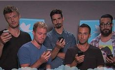 BSB and their cell phones!!