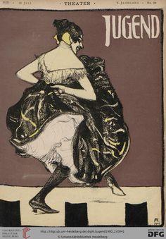 Jugend: Münchner illustrierte Wochenschrift für Kunst und Leben (5.1900, Band 2 (Nr. 27-52))