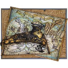 Stampendous What's New » Cling Catifur Columbus