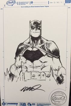 Batman by Humberto Ramos                                                                                                                                                     More