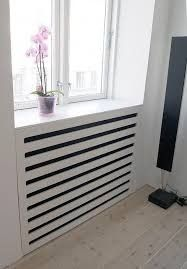 Use these radiator cover ideas to transform your room. See how to use a radiator cover for storage, reading nooks under windows, corner cabinets + more. Best Radiators, Home Radiators, Radiator Screen, Radiator Heater Covers, Modern Radiator Cover, Contemporary Radiators, Classic Cabinets, Home Furniture, Furniture Design