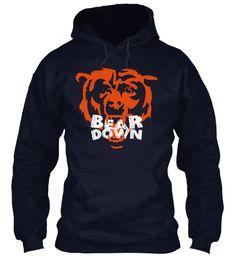 Bears Nation Bear Down Tees! Chicago Bears Hoodie 8be94a147