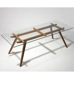 Bildergebnis für glass table dining