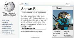 Your Parody Wikipedia Page