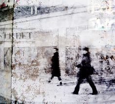 Marathon de Londres  photo - 110x100cm - 1/7 My Works, Les Oeuvres, Marathon, Illustration, Images, Photos, Artwork, Jet, Composition