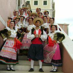 Traditional Greek Traditional Dress, Hillside Village, Corfu Town, Corfu Greece, Folk Costume, Greek Costumes, Dancers, Islands, Festive