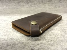 Leather iPhone Case / Leather iPhone Sleeve / by NorthBased