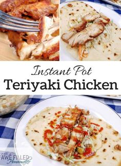 Pot Teriyaki Chicken Do you have an instant pot or want one? Don't miss this amazing teriyaki chicken recipe!Do you have an instant pot or want one? Don't miss this amazing teriyaki chicken recipe! Chicken Teriyaki Recipe, Best Chicken Recipes, Crockpot Recipes, Cooking Recipes, Ip Chicken, Healthy Recipes, Turkey Recipes, Yummy Recipes, Healthy Food