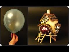 ❣DIY Fairy House Lamp Using a Balloon❣ - YouTube
