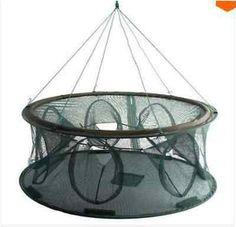 Reliable Nylon Mesh Frame Fishing Shrimping Crawfish Fish Net Trap PDH